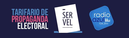 Tarifario Propaganda Electoral Radio Azul Plebiscito